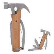 Promotional Custom Logo 12-In-1 Multi-Functional Wood Hammer