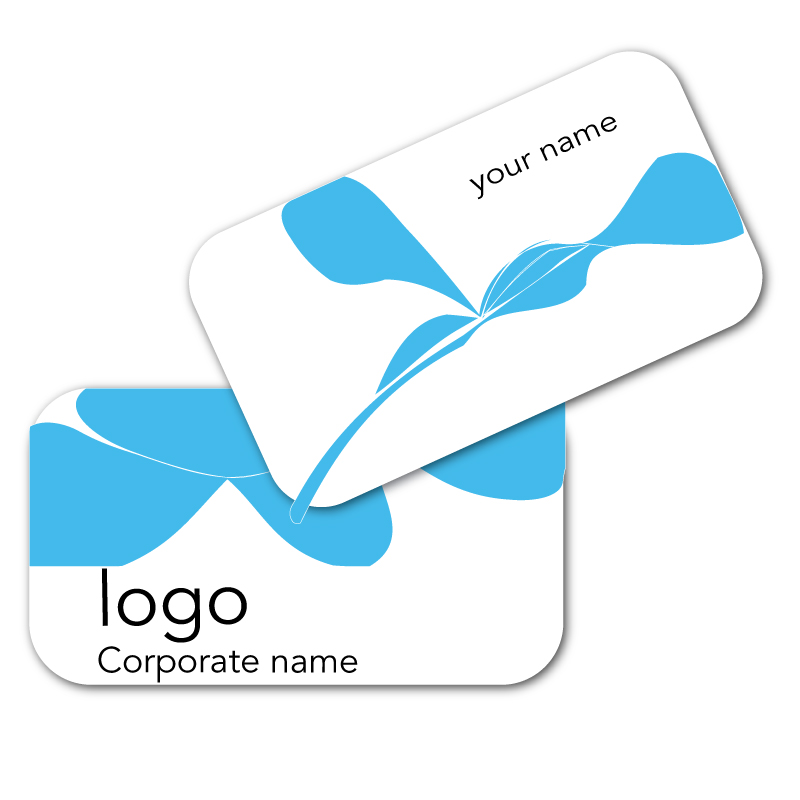 16pt Double Sided Round Corner Business Cards with UV Coating ...