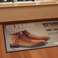 Logo Custom Branded Floor Mat