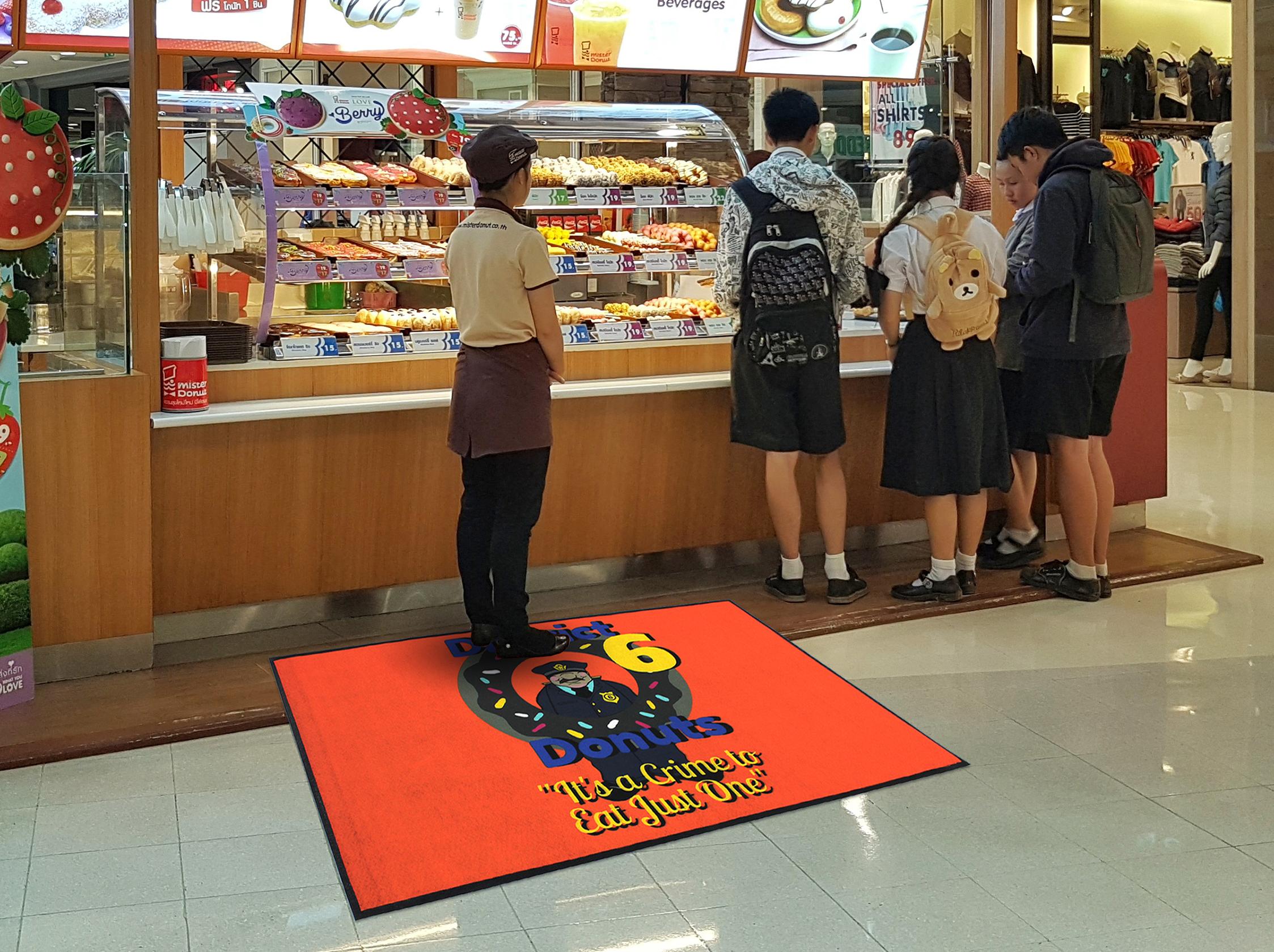 3 X 5 Pop Floor Mat Medium Traffic Indoor Full Color