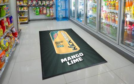 Logo Custom Branded Floor Mat