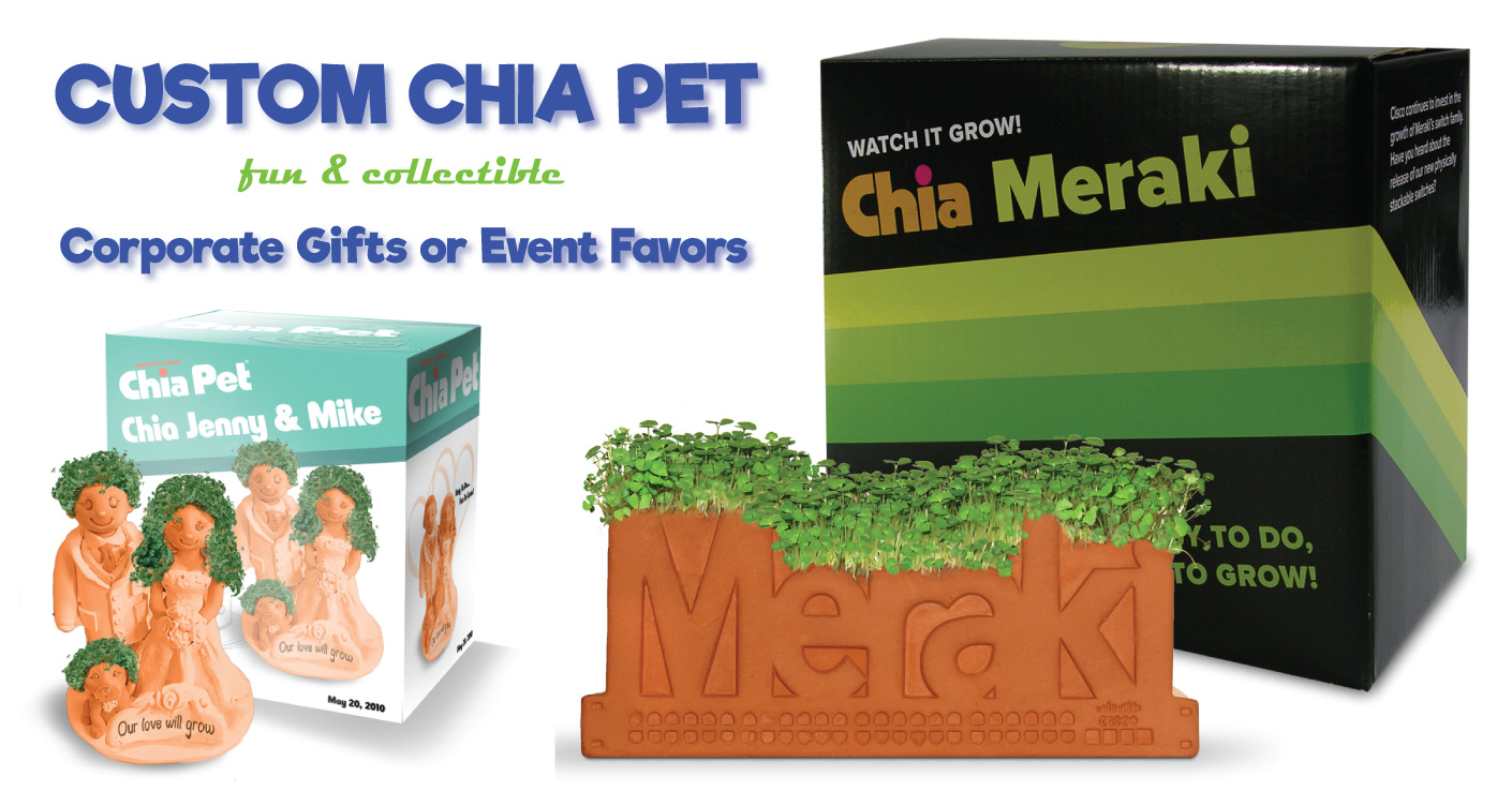 Custom Chia Pet