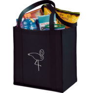 Promotional Products - Imprinted Tote Bag - Tradeshow Bag - Grocery Bag - Little Grocery Non Woven Tote