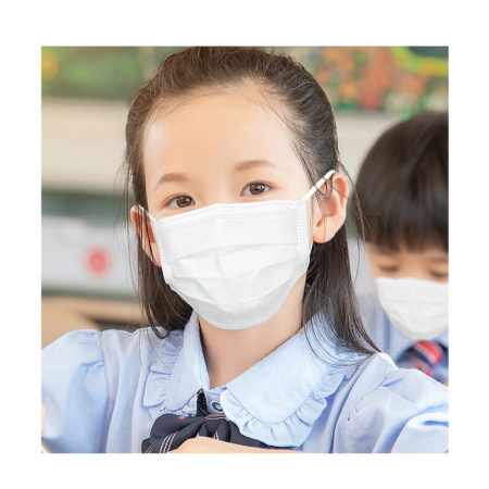 Promotional Custom Logo 25-Pack Individually Sealed Children's Face Mask