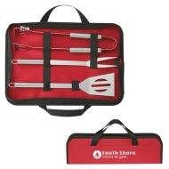 Custom BBQ Set in Travel Case with Logo