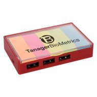Promotional Custom Logo 3-Port USB Hub With Sticky Flags