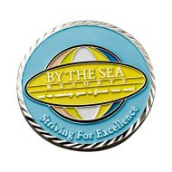 Promotional Custom Logo 4 Colors 2 Sided Brass Challenge Coin