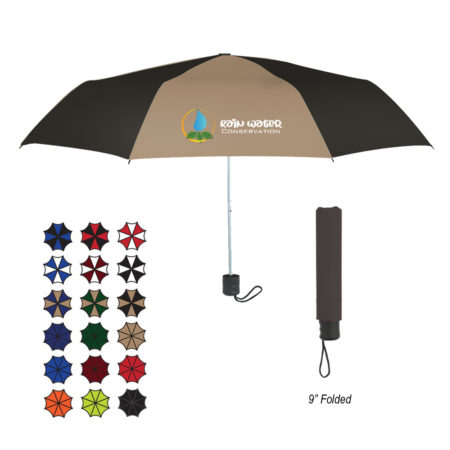 Promotional Products - 42 inch Arc Budget Telescopic Umbrella