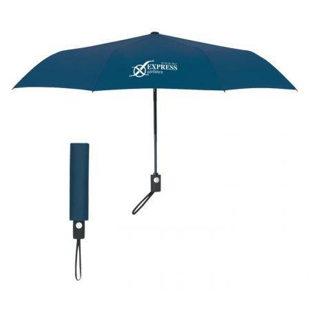 Promotional Custom Logo 43 Arc Telescopic Automatic Open Umbrella