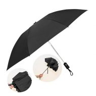 "Promotional Custom Logo 46"" Arc Automatic Open Renegade Umbrella"