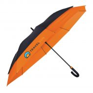 "Promotional Custom Logo 56"" Arc The Crusader Umbrella"