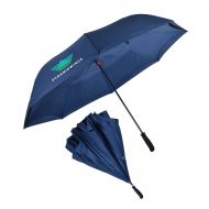 "Promotional Custom Logo 56"" Arc The Rebel XL Inverted Umbrella"