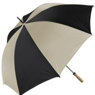 "Promotional Custom Logo 60"" Arc Booster Golf Umbrella"
