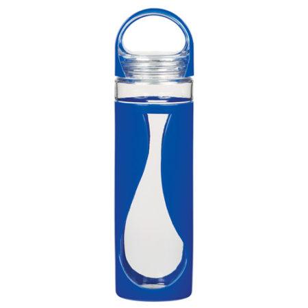 Promotional Products - Teardrop Glass Water Bottle 17oz