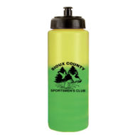 Promotional Mood Color Change Water Bottle with Push n' Pull Cap 32oz