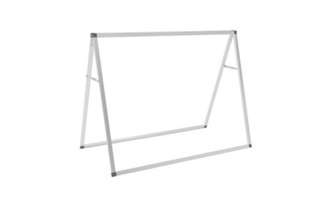 Custom A-Frame Outdoor Banner Display 4ft with Logo