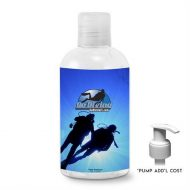 Promotional Custom Logo Alcohol-Free Antibacterial Hand Sanitizer Gel with Optional Pump 8oz
