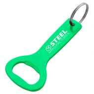 Custom Logo Promotional Aluminum Bottle Opener Key Ring