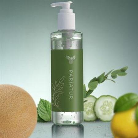 Custom Label Antibacterial Hand Sanitizer Gel Bottle 8oz