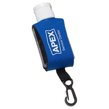 Custom Logo Promotional Antibacterial Hand Sanitizer with Neoprene Sleeve 1oz