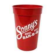 Promotional Custom Logo Antimicrobial Stadium Cup 17oz