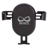 Auto Vent Wireless Charging Phone Holder Custom Logo