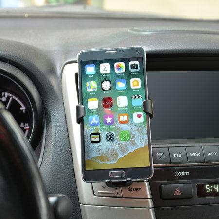 Auto Vent Wireless Charging Phone Holder Custom Logo