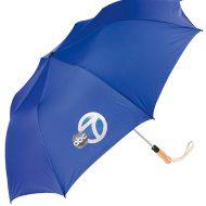 Customizable Automatic Open Golf Folding Style Umbrella - Royal Blue