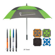 Logo Printed Square Golf Umbrella