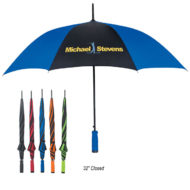 Promotional Logo Printed Automatic Open Umbrella 46 Inch Arc