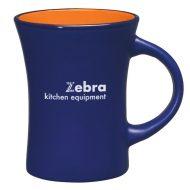 Promotional Custom Logo Aztek Blue Flare Mug 10oz