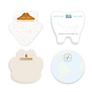 Promotional Products - BIC Adhesive 2x3 Die Cut Shape Notepad