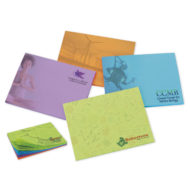 Promotional Products - BIC Adhesive 4x3 Bright Colored Paper Notepad with 25 sheets