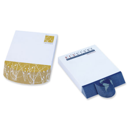 Promotional Notepad- BIC Adhesive 4x6 Beveled Notepad