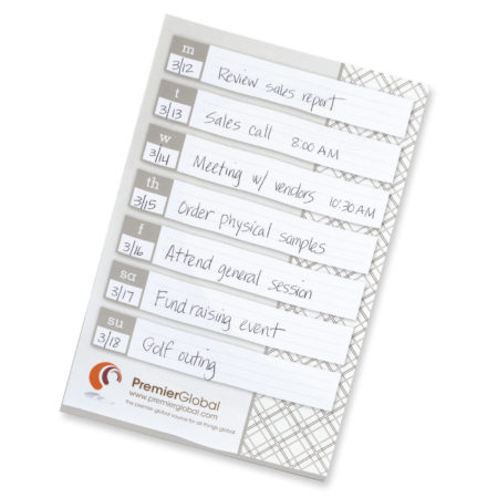 Promotional Products - BIC Adhesive 6x9 Large Notepad