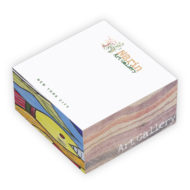 Promotional Notepad cube - BIC Non-Adhesive Cube Notepad Full Color