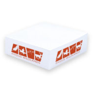 Promotional Products - BIC Value 3x3x1 Non-Adhesive Cube Notepad 1 Color