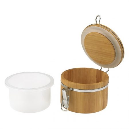 Promotional Custom Logo Bamboo Container 20oz - Screen Print