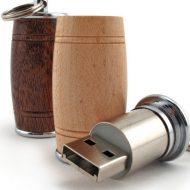 Promotional Custom Logo Barrel USB Drive