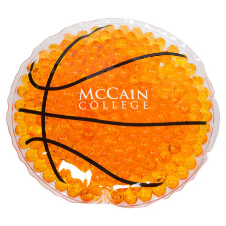 Promotional Custom Logo Basketball Hot/Cold Pack Aqua Pearls
