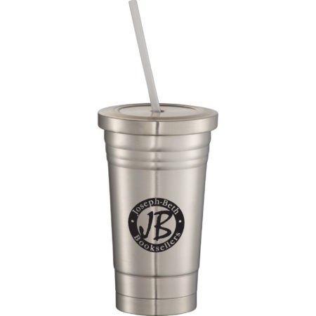 Promotional Products - Beck Stainless Steel Vacuum Tumbler 16oz
