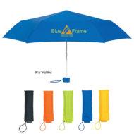 Logo Printed Promotional Bella Umbrella with 39 inch Arc