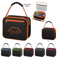 Promotional Products - Custom Imprinted Lunch Coolers - Logo Coolers and Bags - Brawny Insulated Lunch Bag