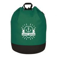 Custom Logo Promotional Bucket Bag Drawstring Backpack