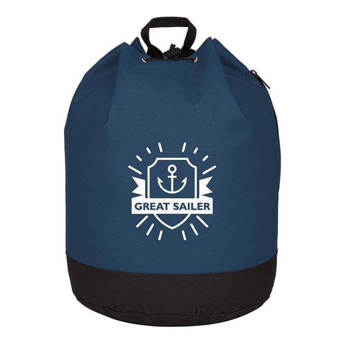 Bucket Bag Drawstring Backpack - Progress Promotional Products 1b3aab21e03b2
