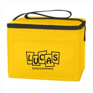 Custom Logo Promotional Budget Lunch Cooler Bag 6 Cans