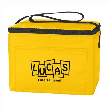 Custom Logo Promotional Budget Lunch Cooler Bag 6 Cans