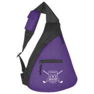 Promotional Custom Logo Budget Sling Backpack