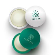 Promotional Custom Logo CBD Infused Lip Balm Ball Moisturizer