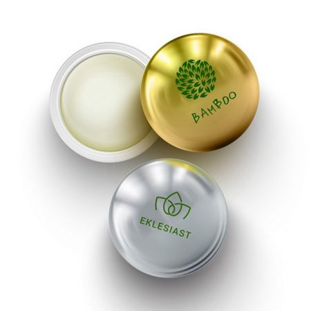 Promotional Custom Logo CBD Infused Metallic Lip Balm Moisturizer